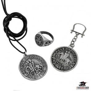 Templar Seal Gift Set - 3 Piece Pewter